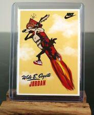 1985 Michael Jordan x Wile E. Coyote Rookie RC Chicago Bulls Rare NO 1986 Fleer