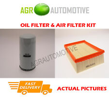 PETROL SERVICE KIT OIL AIR FILTER FOR FORD ESCORT 1.8 116 BHP 1995-99