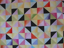 100% Cotton fabric Squares and Triangles.. Flight Pattern Collection