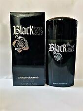 Black XS for Men Paco Rabanne 3.4 oz Eau de Toilette Spray as picture New In Box