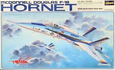 Hasegawa 1:32 McDonnell Douglas F-18 Hornet Us Navy Fighter Plastic Kit #S23U