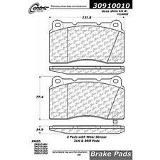 Centric Parts 309.10010 Front Semi-Metallic Brake Pads