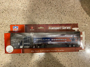 Dallas Cowboys Transport Series DieCast Collectible Tractor Trailer NFL