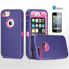 For Apple iPhone 5C SE 5S 5G Hybrid Shockproof Armor Protective Hard Case Cover
