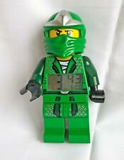 "Lego Ninjago Alarm Clock Lloyd ZX Figure Large 9"" Green Works 2012"