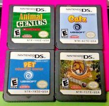 Catz Championship Pony Pet Adoption Genius - Nintendo DS Lite 2ds 3ds Game Lot