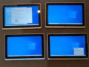 4 x Acer Iconia Tablet/Laptop i3-3227 4Gb RAM 128Gb SSD Win 10 READ DESCRIPTION