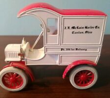 1905 Ford's First Delivery Car Model T Canton Ohio Bank