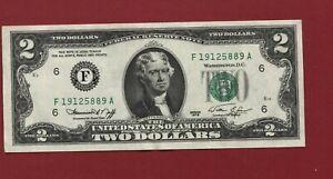 FR1935 F  US $2.00 US Note - CU - Series 1976