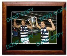 HAWKINS & SELWOOD GEELONG CATS 2011 PREMIERS A3 PHOTO