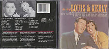 CD LOUIS PRIMA & KEELY SMITH  THE HITS OF LOUIS & KEELY 9T DE 1988 MADE IN USA