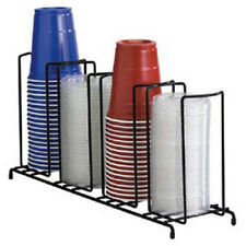 Wire Cup Dispenser And Lid Dispenser Up To 44 Oz 4 Sections