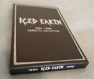 ICED EARTH 1990 - 1996 Cassette Collection FL238MC RARE!