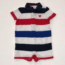 Chaps Baby Boy Striped Romper Size 6 Months