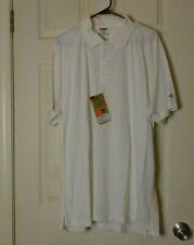 Blackhawk  Men's Performance Polo Shirt White Size XXL New
