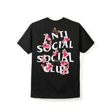 Anti Social Social Club Kkoch Black Tee T-Shirt ASSC Size S M L XL W/Receipt
