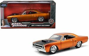 1:32 Dom's Plymouth Road Runner -- Copper -- Fast & Furious JADA