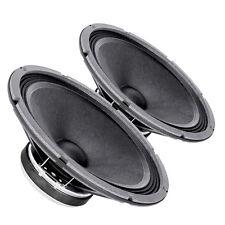 """Pair Faital PRO 10FE200 10"""" Woofer Midrange Open Baffle Speaker 4 ohm 300W 96dB"""