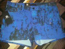 ROCK & REPUBLIC Marble Wash Short Shorts Size 14