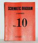 KENWOOD Service Manuals Buch von 1988 Almanach Schematic Diagram No.10