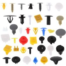 200Pcs Car Door Panel Bumper Push Pin Rivet Retainer Trim Clips Fastener