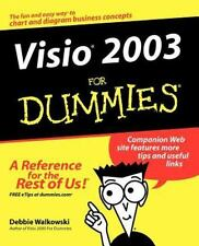 Visio 2003 for Dummies by Debbie Walkowski (2004, Paperback)