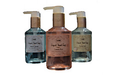SABON Liquid Handsoap 200ml Lavender Rose/Apple,Jasmine with Chamomile&Aloe-Vera