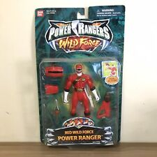 Rare Bandai Saban?s Power Rangers Wild Force- Red Wild Force Power Ranger 2002