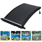 Curve Solar Pool Heater Panel Water Warmer for Above-Ground Swimming Pools