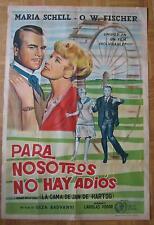 movie poster / Filmplakat Das Riesenrad / Para nosotros no hay adios  M.Schell