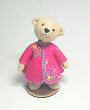 Small handmade artist dressed teddy bear by  Boyatt wood Bears.