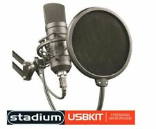 Stadium USBKIT USB MIC Studio Microphone For MAC & PC Youtube & Skype