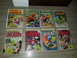 DC Comics 8 Comic Lot Challengers of the Unknown 16 51 52 54 149 162 163 166