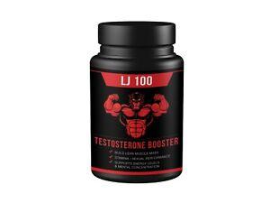 QFL LJ100 Premium Testostérone Booster pour Hommes - Amélioration Pilules - 60