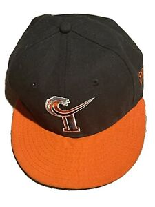 MiLB Norfolk Tides Baseball New Era 59Fifty Hat Fitted Size 7 Orioles AAA READ