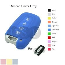Silicone Cover fit for HYUNDAI Elantra Sonata Veloster Smart Remote Key Case DB