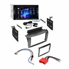 JVC Car Radio Stereo Double Din Dash Kit Wire Harness for 2004-2009 Mazda 3