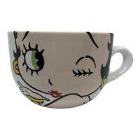 Universal Studios Betty Boop Ceramic Jumbo Latte Mug 2017 Large Coffee Cup Kiss