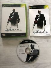 Xbox Hitman 2 Silent Assassin Great Condition Refurbished Game