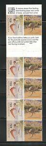 B910  Australia  1993  dinosaurs  COMPLETE BOOKLET    MNH