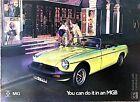 MG MGB Sales Brochure October 1974 #3041