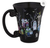 Disney Parks Haunted Mansion Coffee Mug HAT BOX GHOST HITCHHIKING GRAVEDIGGER