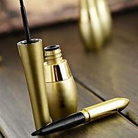 2in1 Makeup Eyeliner Liquid Black Eye Liner Pen Pencil Cosmetic Waterproof HS