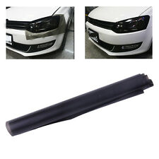 Black 100x 30CM DIY Scrub Matte Car Headlight Tail Light Tint Film Cover Decals