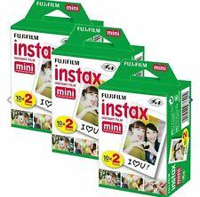 60PCS Fujifilm Instax Sheets For Mini 8-9 & all Fuji Mini Instant Film