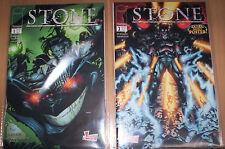STONE 2. SERIE (deutsch) # 1 + 2 KOMPLETT - MARVEL GENERATION COMICS 2000 - TOP