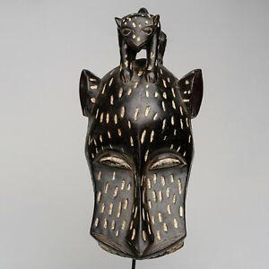 CS7 Baule Maske alt Afrika / Masque baoule ancien / Tribal baule mask