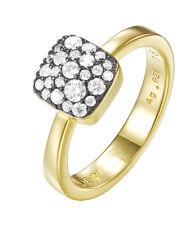 JOOP! JPRG90798E180 JP-M Pave Damen Ring vergoldet mit weißen Steinen neu