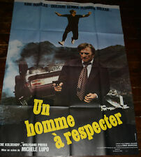 UN HOMME A RESPECTER French Film Cinema Movie Poster 120 x 160 THE MASTER TOUCH