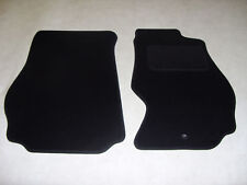 Nissan 350Z 2003-10 Fully Tailored Deluxe Car Mats in Black